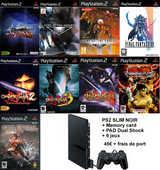 Playstation 2 Slim + Carte Mémoire + 9 Jeux + Pad 45 Nice (06)