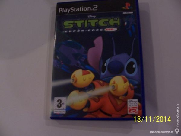 JEU DE PLAYSTATION 2 STITCH POUR 3 ANS ET ++ Consoles et jeux vidéos