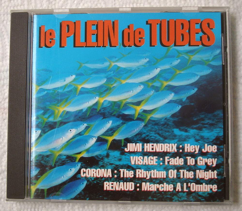 LE PLEIN DE TUBES-CD COMPIL.CLUB DIAL-JIMI HENDRIX-RENAUD .. 4 Tourcoing (59)