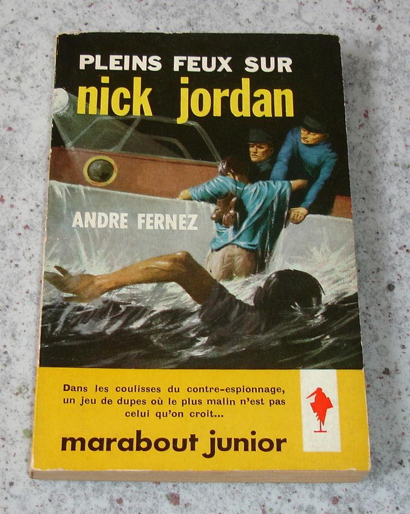 PLEINS FEUX SUR NICK JORDAN-A.FERNEZ-MARABOUT JUNIOR179-1960 4 Tourcoing (59)