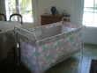lit pliant pour bébé avec sommier et matelas