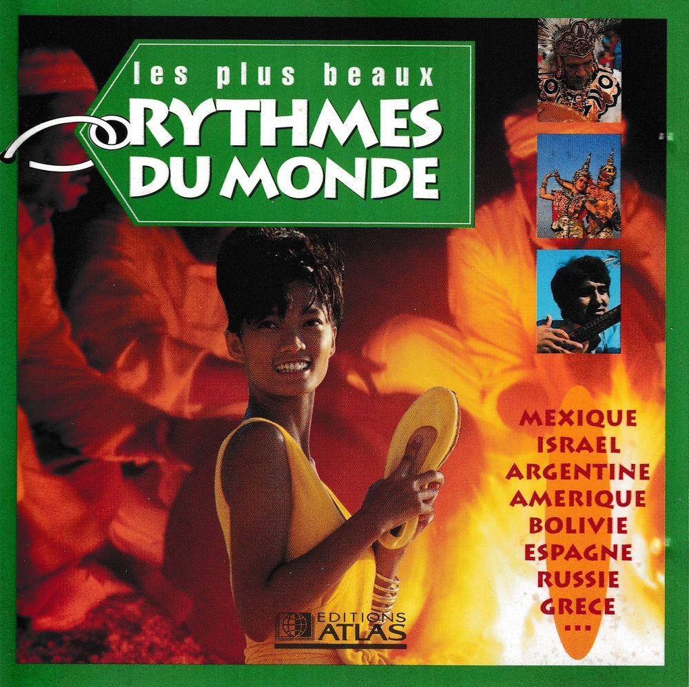 CD   Les Plus Beaux Rythmes Du Monde    Compilation 5 Bagnolet (93)