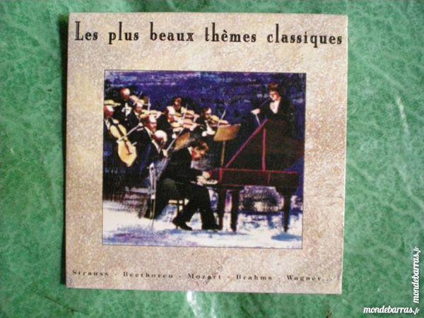 CD     Les plus beaux thèmes classiques     3 Saleilles (66)