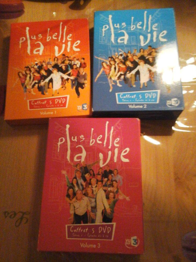 lot de 15 dvd PLUS BELLE LA VIE DVD et blu-ray