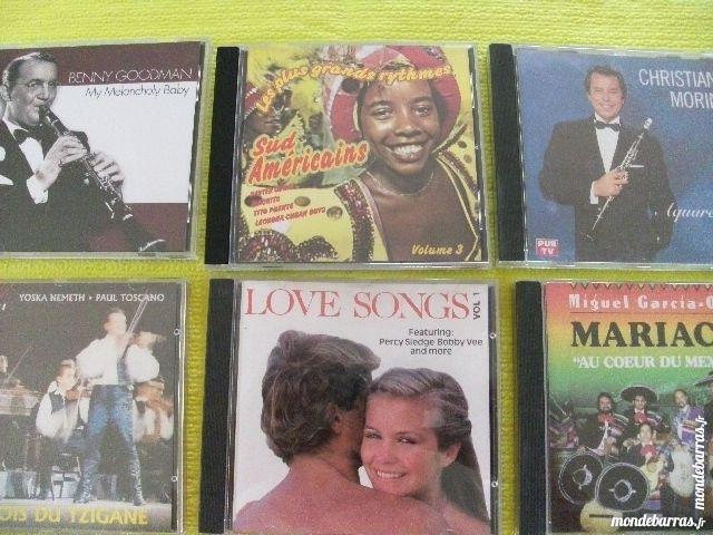 LOT 4O CD LES PLUS GRANDS ORCHESTRES 1 Roost-Warendin (59)