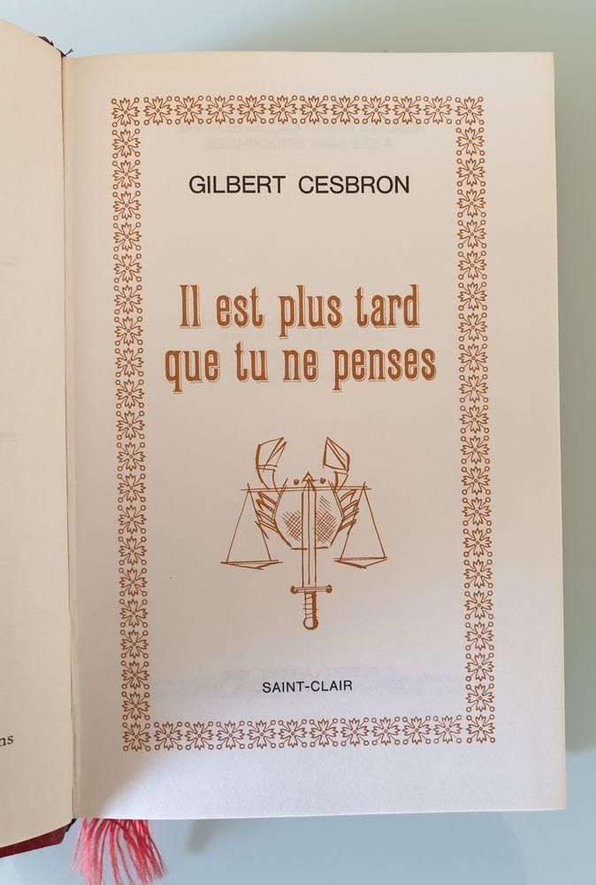 Il est plus tard que tu ne penses - Gilbert Cesbron Livres et BD