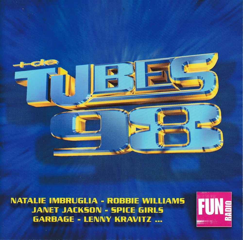 CD   Plus De Tubes 98    En Association Avec Fun Radio 5 Bagnolet (93)