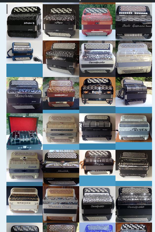 plusieurs accordéons chromatques et diatoniques d'occasion 1 Dijon (21)