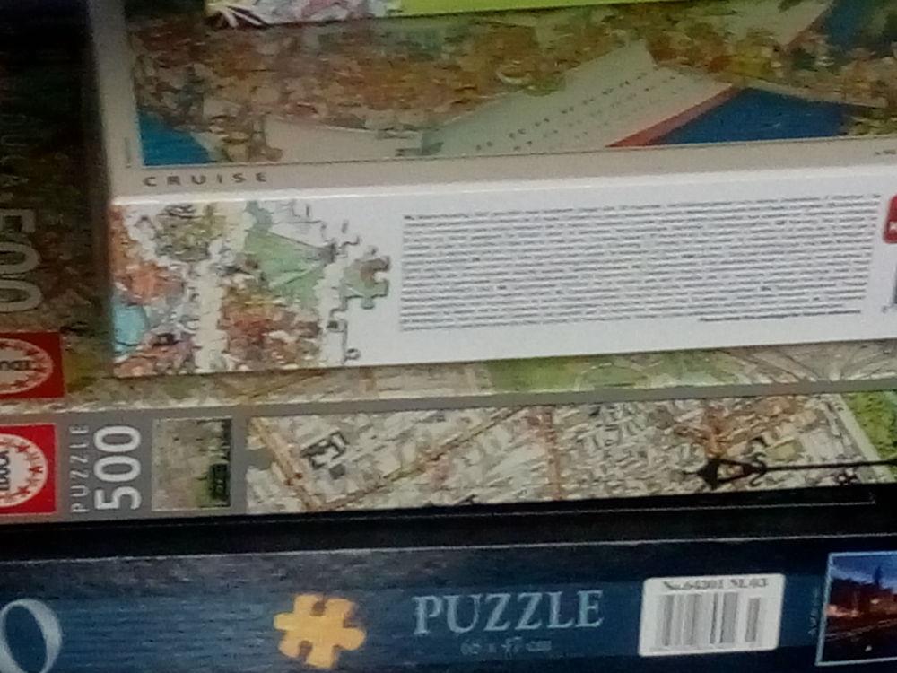 plusieurs puzzles 1000 pièces 0 Béziers (34)