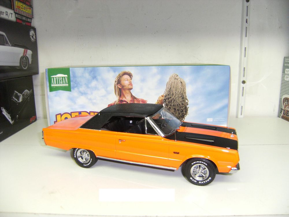 Plymouth GTX cabriolet orange   Joe dirt   au 1/18 59 Pont-Sainte-Marie (10)