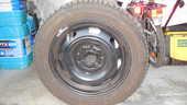 4 pneus neige Michelin Alpin 195/55 R15 neufs montés jante 110 Périgueux (24)