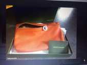 Pochette Longchamp rouge 35 Bellentre (73)