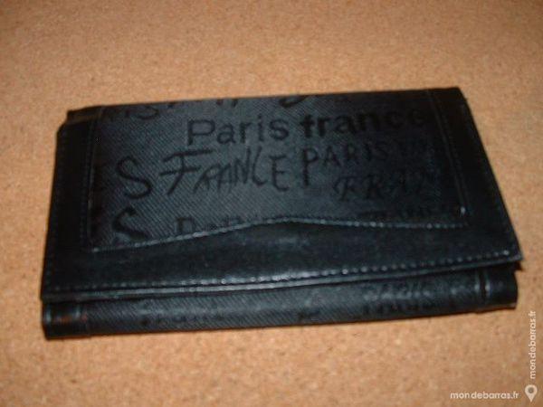 Pochette portefeuilles femme PARIS FRANCE NOIR 9 Farschviller (57)