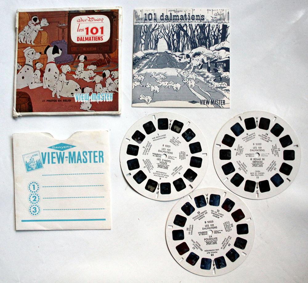 Pochette Viewmaster les 101 dalmatiens Disney complète 12 Issy-les-Moulineaux (92)