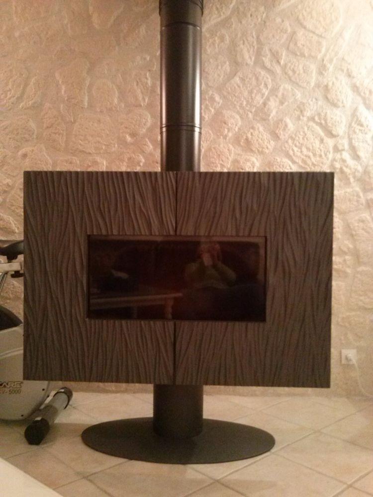 POELE A BOIS INVICTA GAYA ARDOISE 12KW 1200 Brie-Comte-Robert (77)