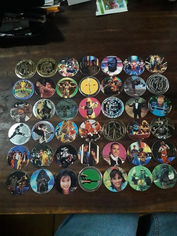 Pogs Power Rangers, Batman, Pogs officiels, etc. 1 Bondy (93)