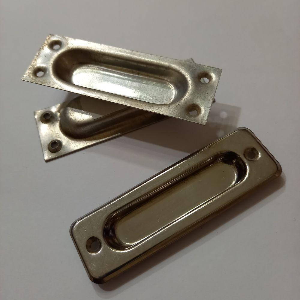 Poignée, ou devant de tiroir en inox , lot de 3              2 Saumur (49)