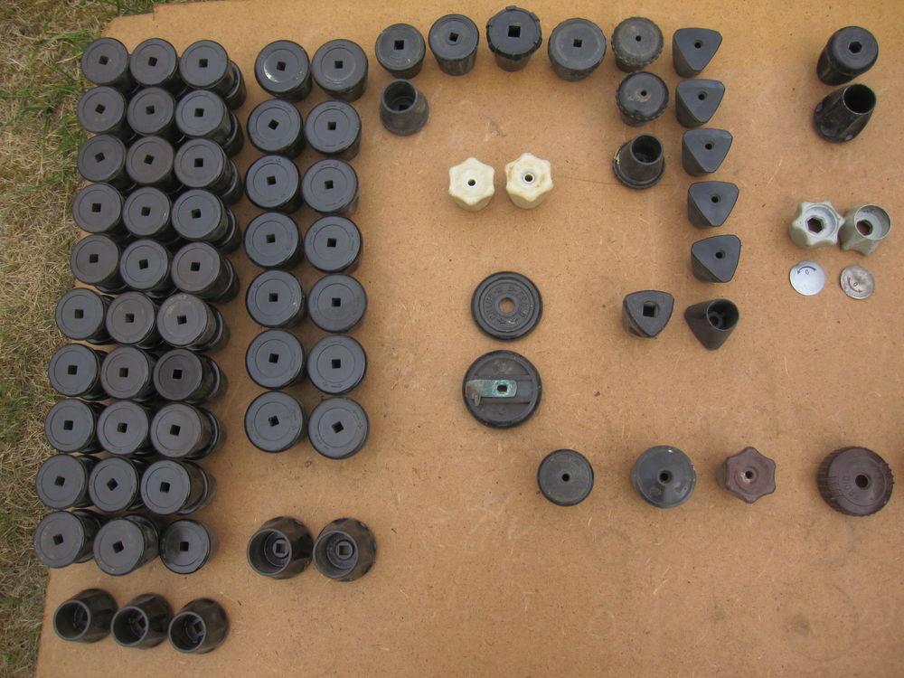 Poignées anciennes  de robinets de radiateurs 2 Comines (59)