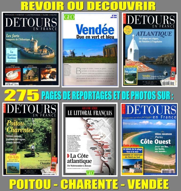 POITOU - CHARENTE - VENDÉE 18 Lyon 8 (69)
