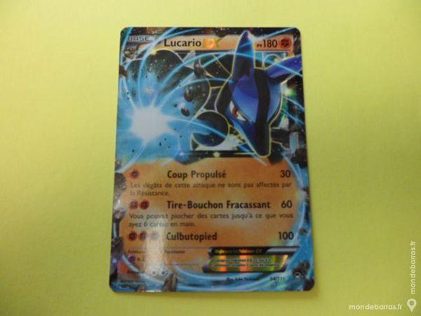 Pokémon Lucario EX : Poings Furieux Carte Neuve 22 Haubourdin (59)
