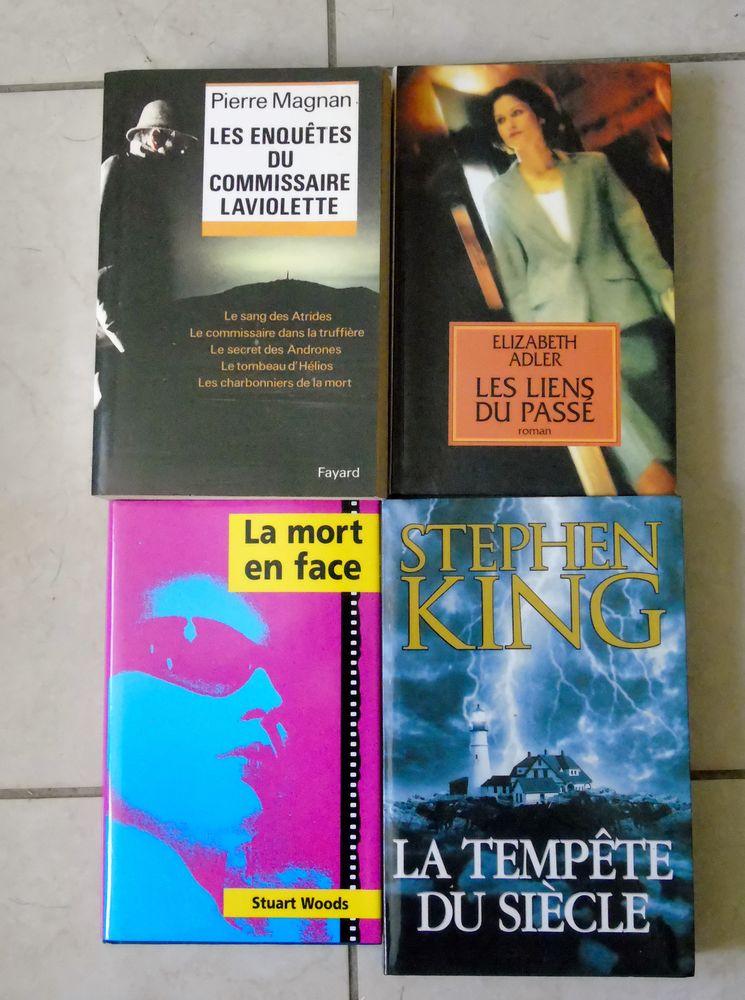 Polars / thrillers brochés 8 La Guerche-sur-l'Aubois (18)