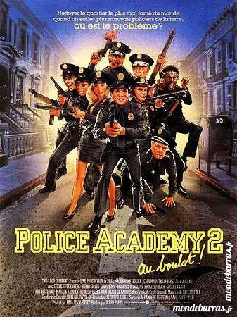 Dvd:  Police Academy 2  (448) 6 Saint-Quentin (02)