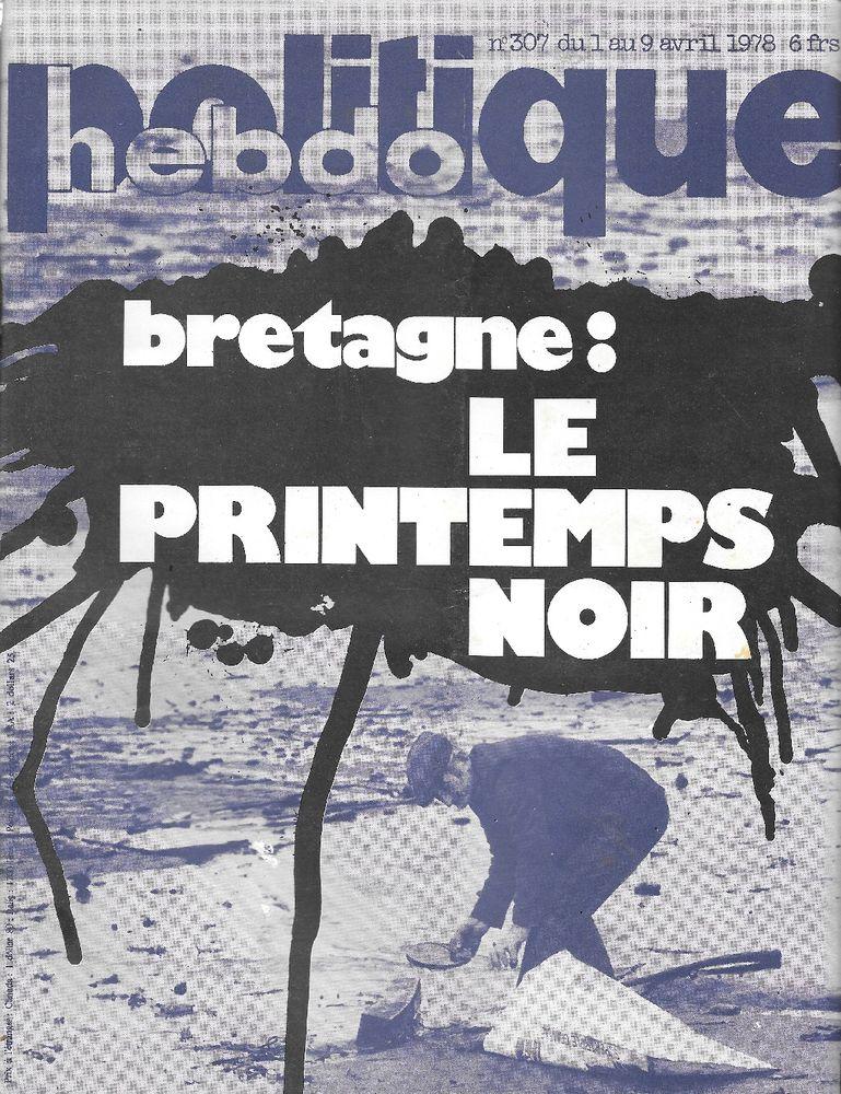 POLITIQUE HEBDO Magazine n°307 1978  Panama  Rhodésie 3 Castelnau-sur-Gupie (47)