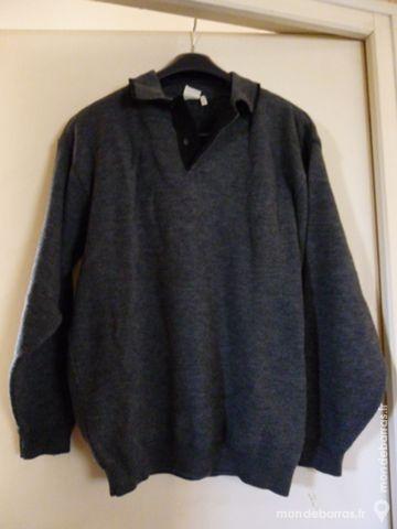 Polo homme gris anthracite - 15 Goussainville (95)