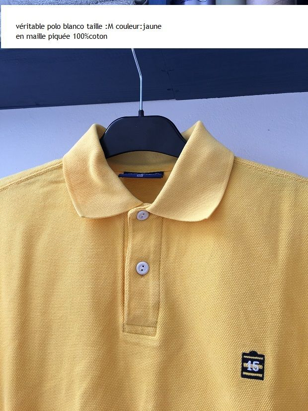 polo homme SERGE BLANCO .taille M 45 Étaples (62)