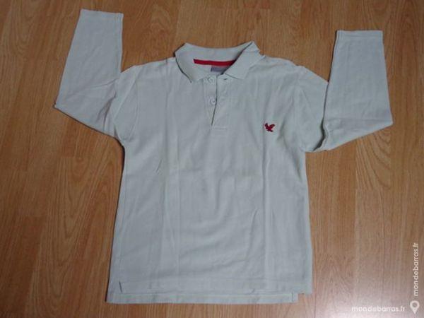 POLO MANCHES LONGUES KIABI TAILLE 8 ANS Vêtements enfants