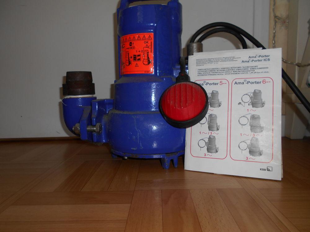 pompe à moteur submersible  400 Bruz (35)