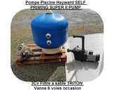 Pompe Piscine Hayward SELF PRIMING SUPER II PUMP 3Cv Filtre  1000 Saint-Pôtan (22)