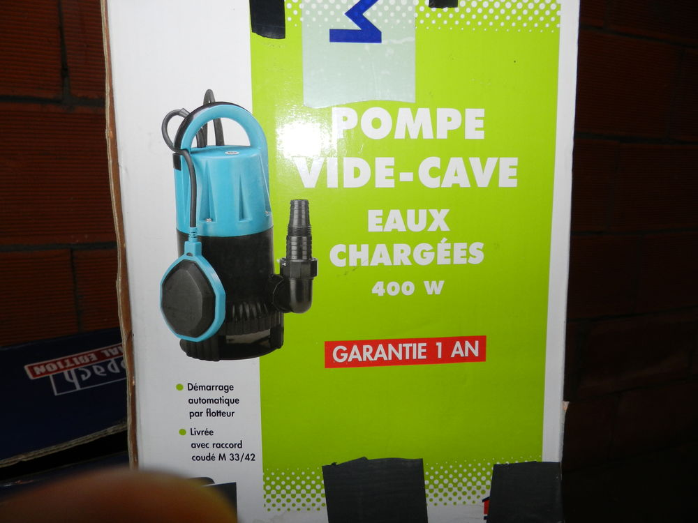Pompe vide cave 40 Blanzy (71)