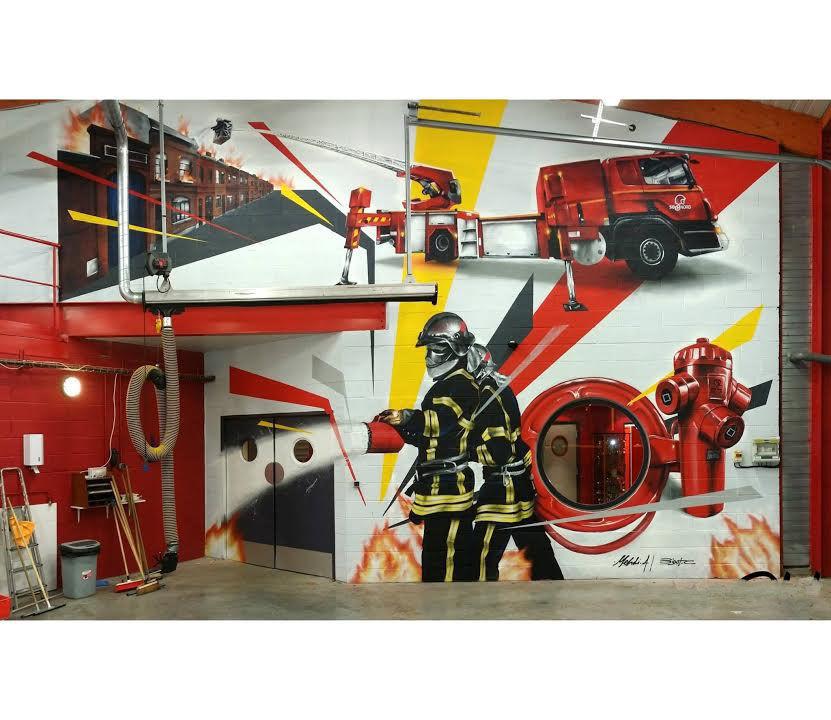 Achetez pompier graff tag neuf   revente cadeau, annonce vente à