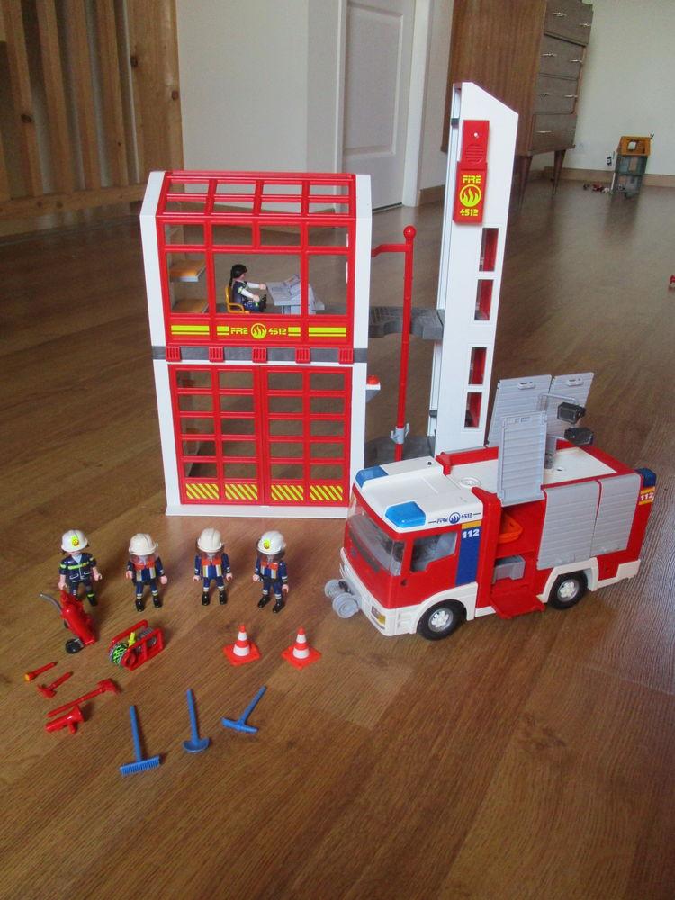 Pompiers Playmobil 25 Oursbelille (65)
