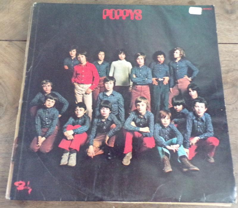 poppys les poppys barclay XBLY 80445 1971 disque 13 Laval (53)