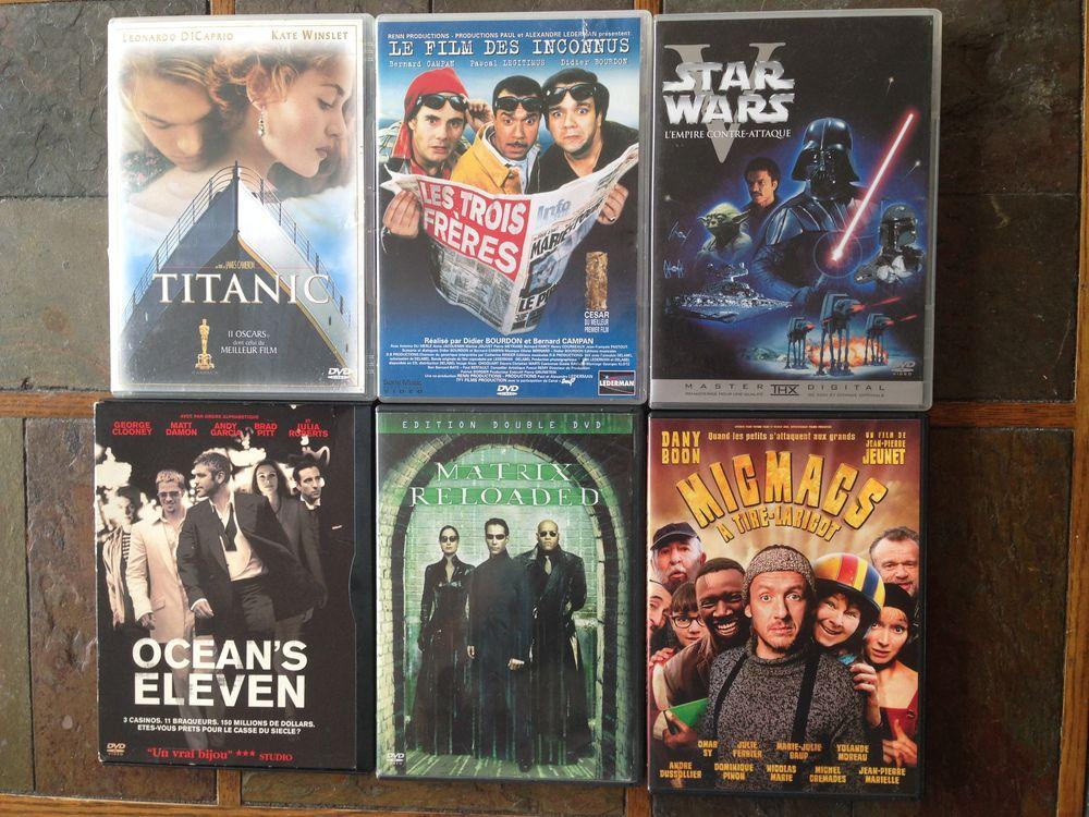 lot de 6 DVD populaires 20 Sarcelles (95)