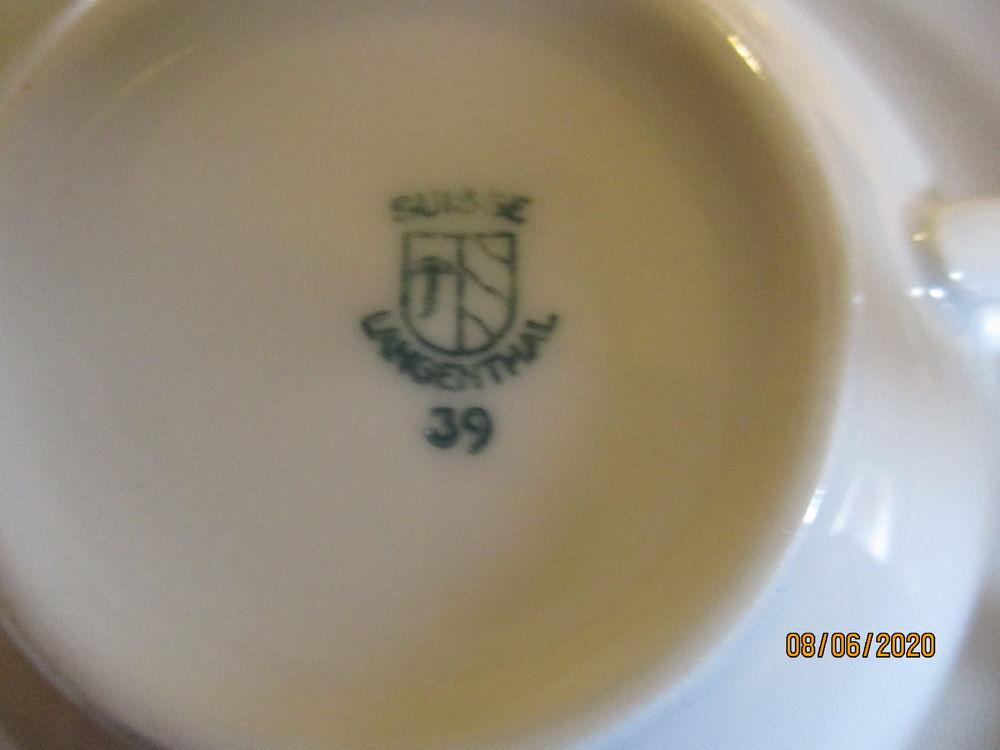 porcelaine suisse langenthal ,service à thé  50 Lachassagne (69)