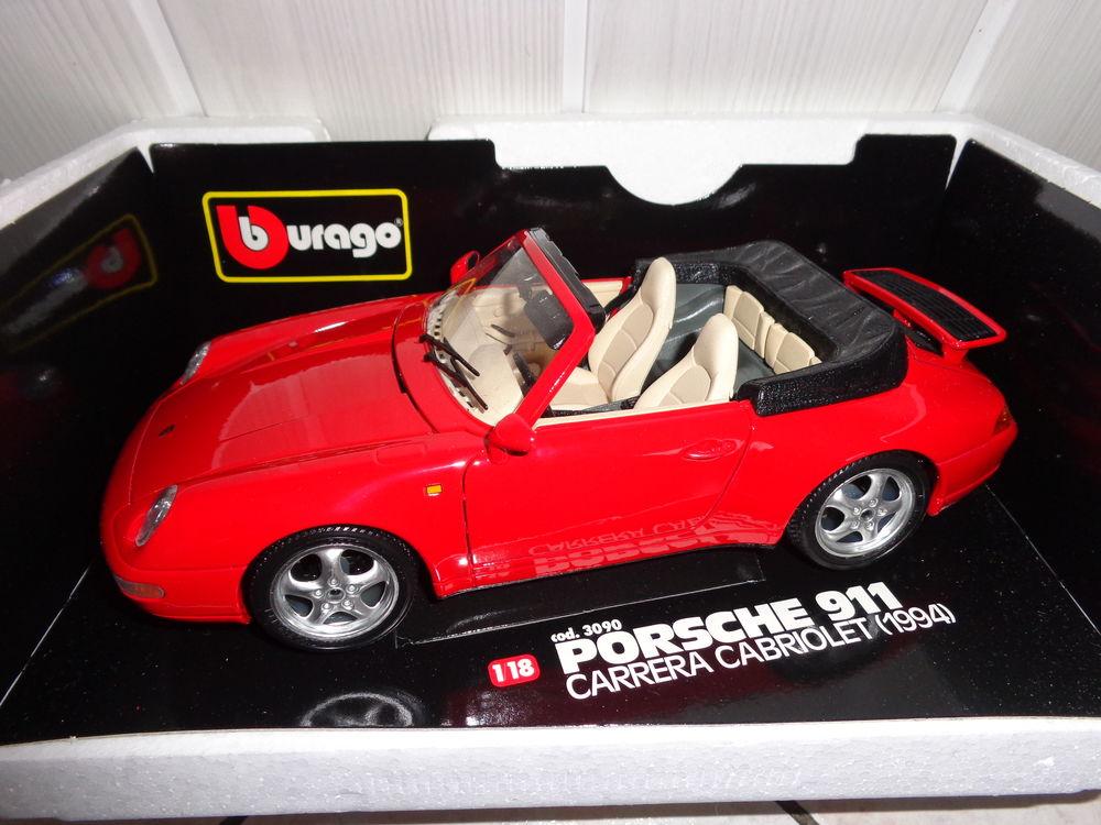 Porsche 911 carrerra cabriolet - 1994 - 1/18