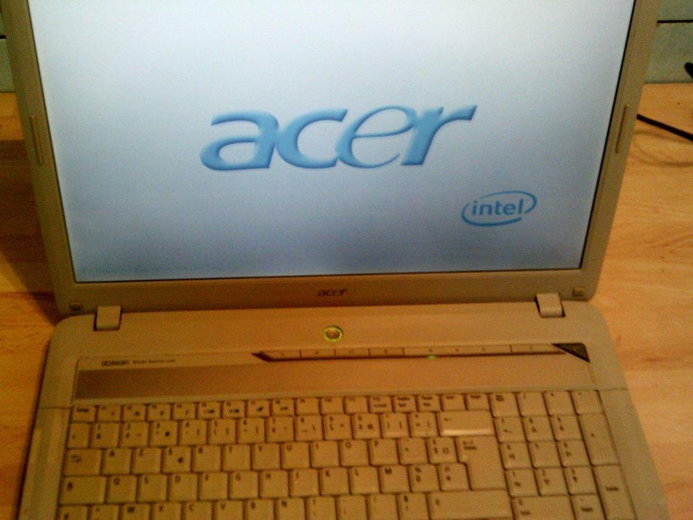 PC portable 17' Acer 7720 webcam 80gb 2go ram 125 Versailles (78)