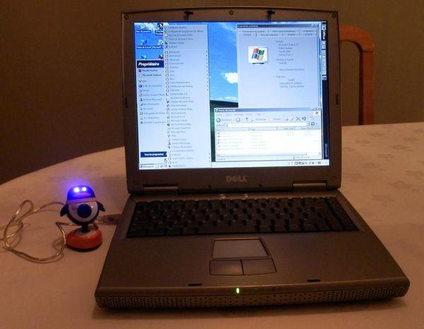 PC portable Dell Wifi Webcam DVD graveur CD 130 Bagneux (92)