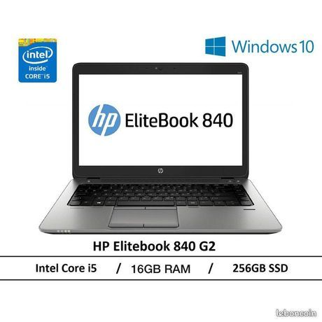 PC Portable HP EliteBook 840 G3 avec 16 giga et 512 giga SSD 335 Chelles (77)