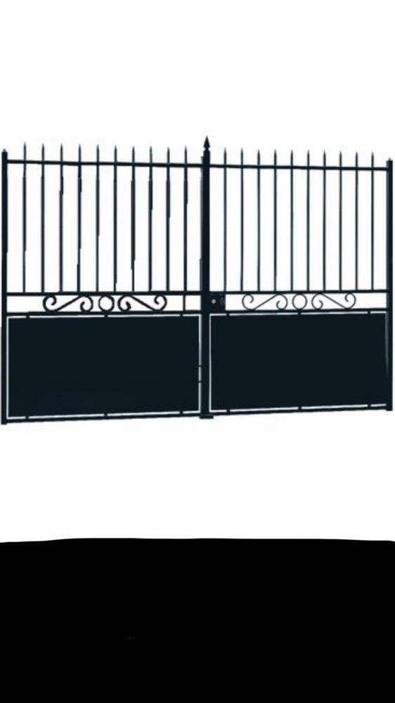 tole festonnage pour portail lapeyre