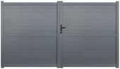 portail battant alu coulissant portillon aluminium neuf 400 93100 Montreuil