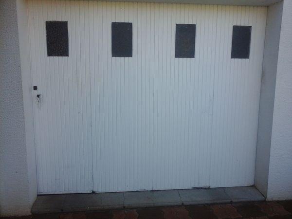 portail de garage en bois 80 Vouillé (79)