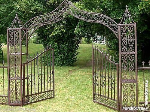 Portails occasion en basse normandie annonces achat et - Portail de jardin en fer ...