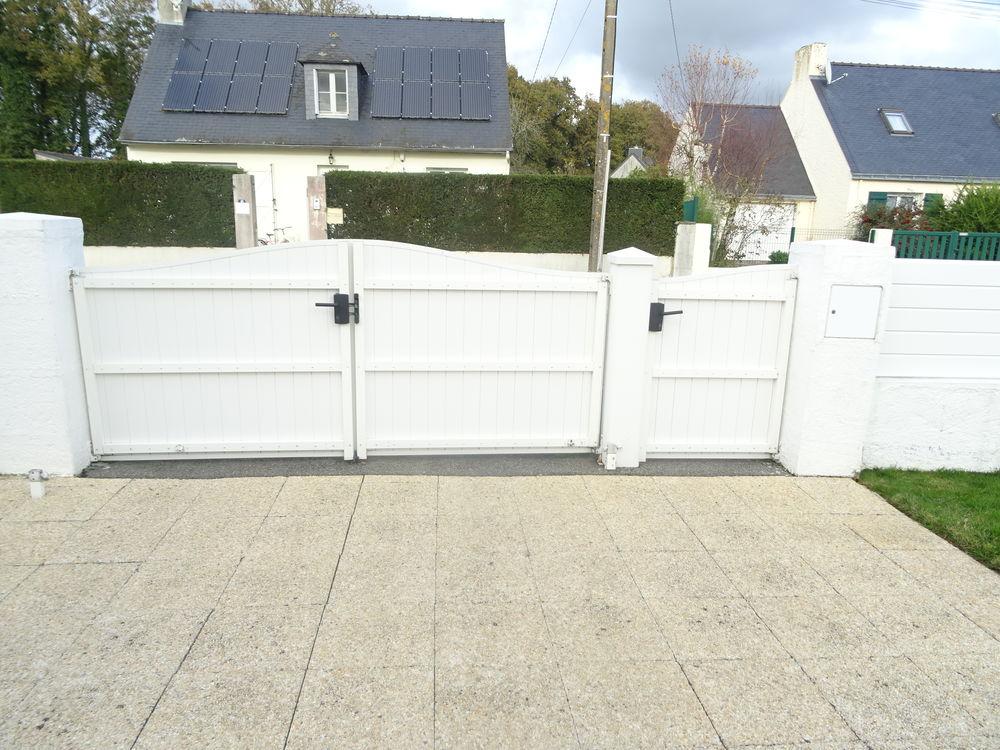 Portail + portillon  350 Saint-Lyphard (44)