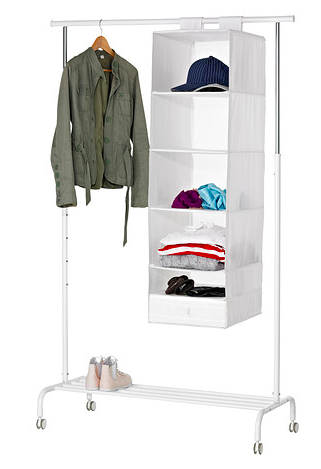Achetez portant ikea blanc quasi neuf annonce vente paris 75 wb151228638 - Ikea portant penderie ...