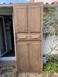 Porte ancienne chêne