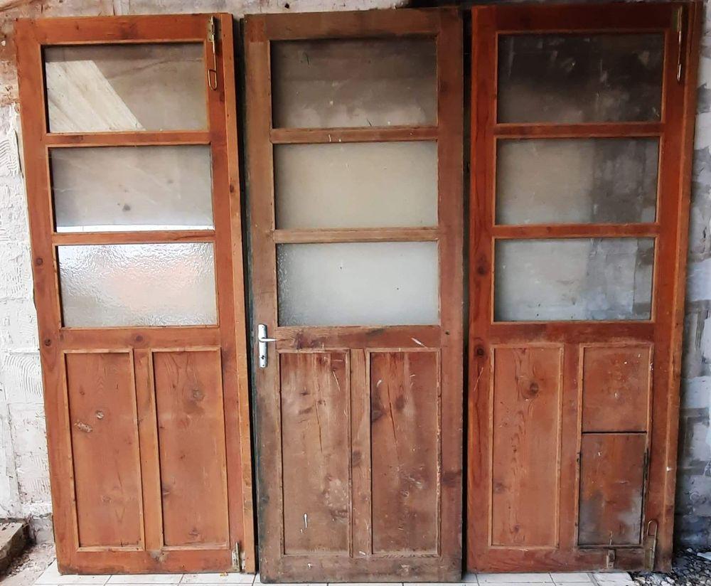 Porte atelier - loft - verrière - garage - porte en bois 780 Arras (62)